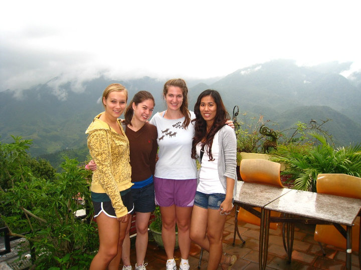 the girls in Sapa